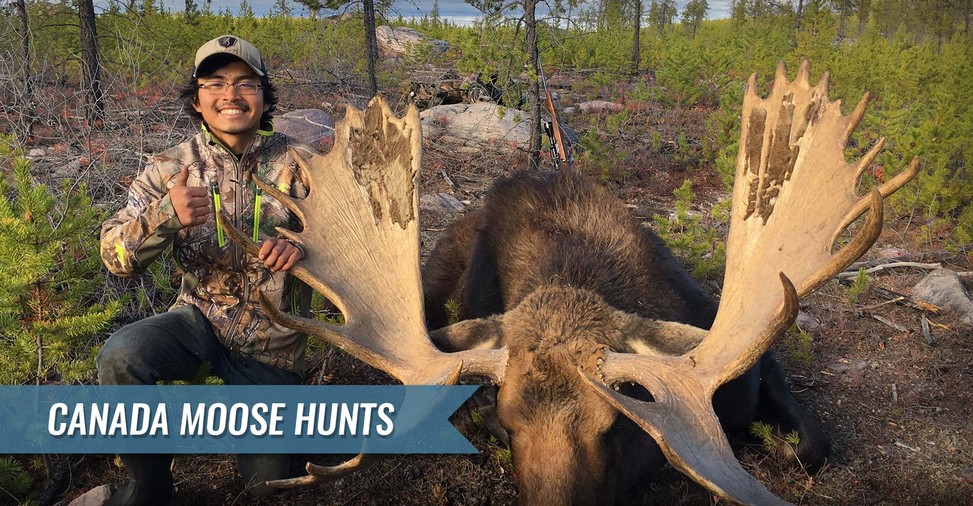 Trophy Alberta Moose Hunting